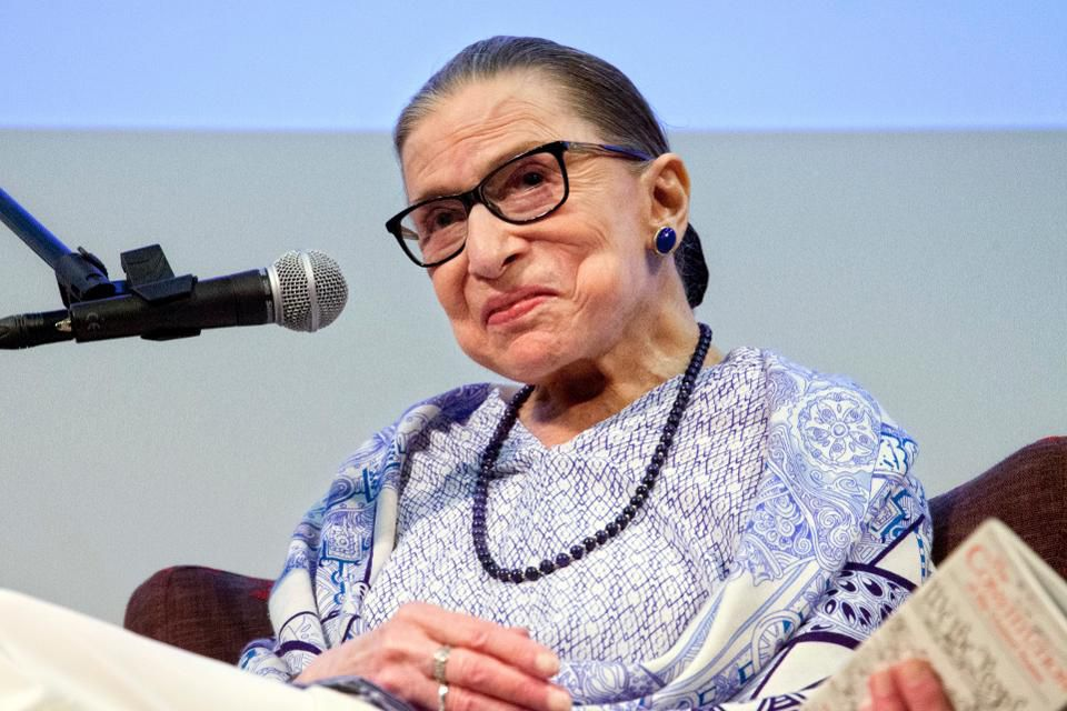The Three Lessons You Can Learn About Ambition From Ruth Bader Ginsburg