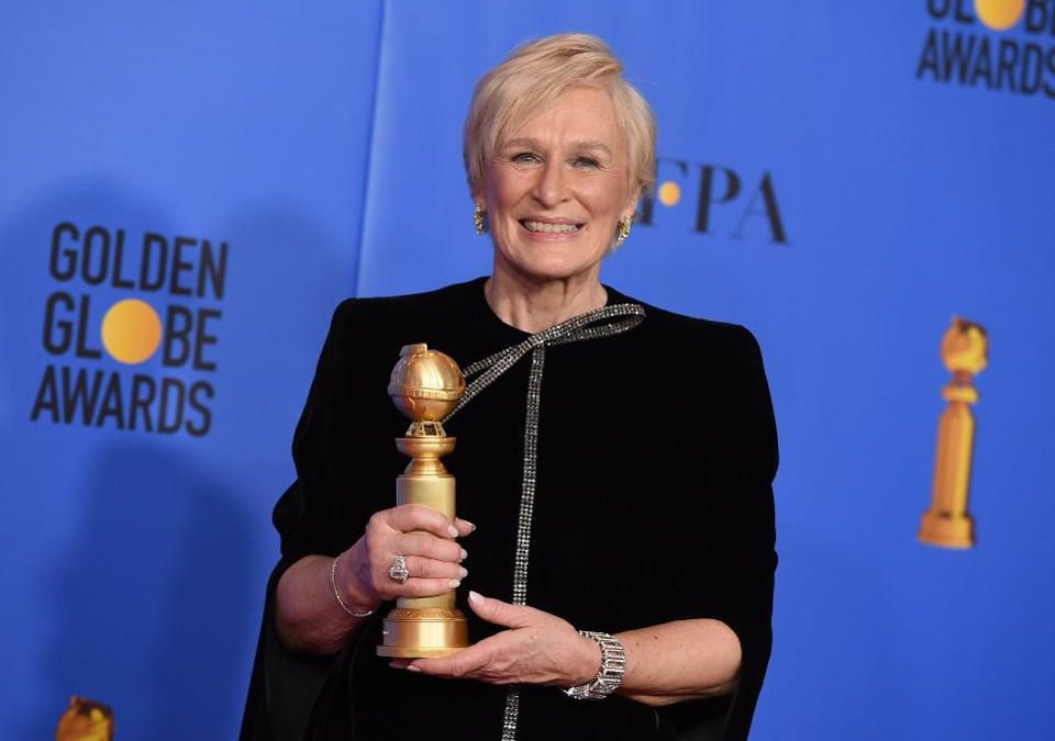 How Glenn Close's Golden Globe Speech Inspires Women To Own Their Ambition