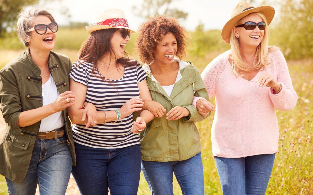 Hanging With Your Girlfriends Helps You Live Longer And Happier